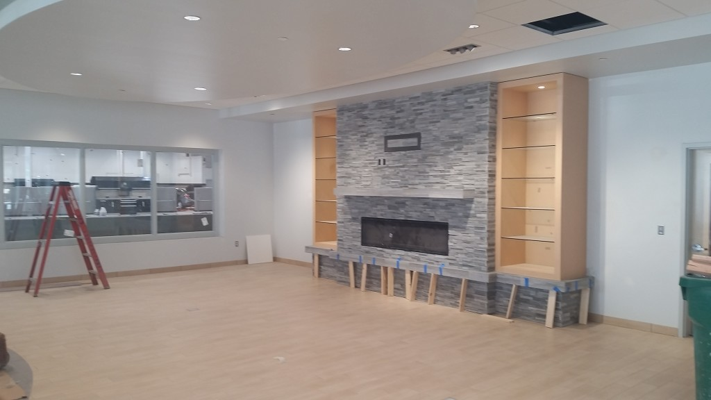 Fireplace_Service Customer Lounge