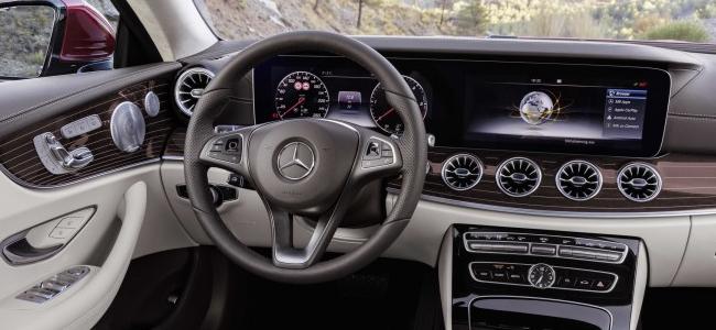 2018 Mercedes-Benz E-Class Coupe Interior