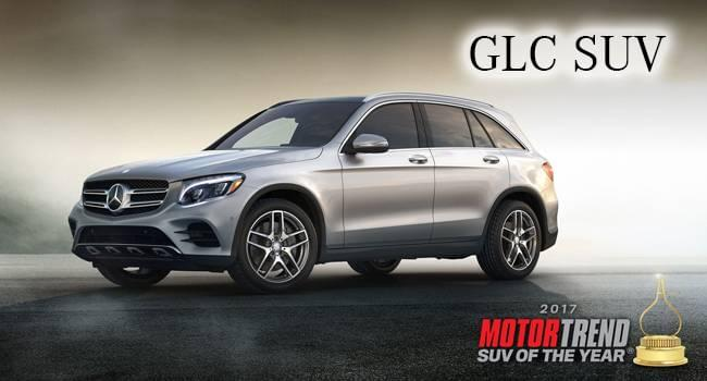 Mercedes benz glc 300 is motor trend 39 s 2017 suv of the year for Mercedes benz 300 suv