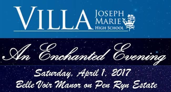 Villa Joseph Marie High School Enchanted Eventing Auction 2017