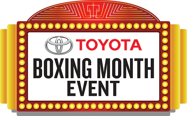 Toyota Boxing Month Event Logo Image