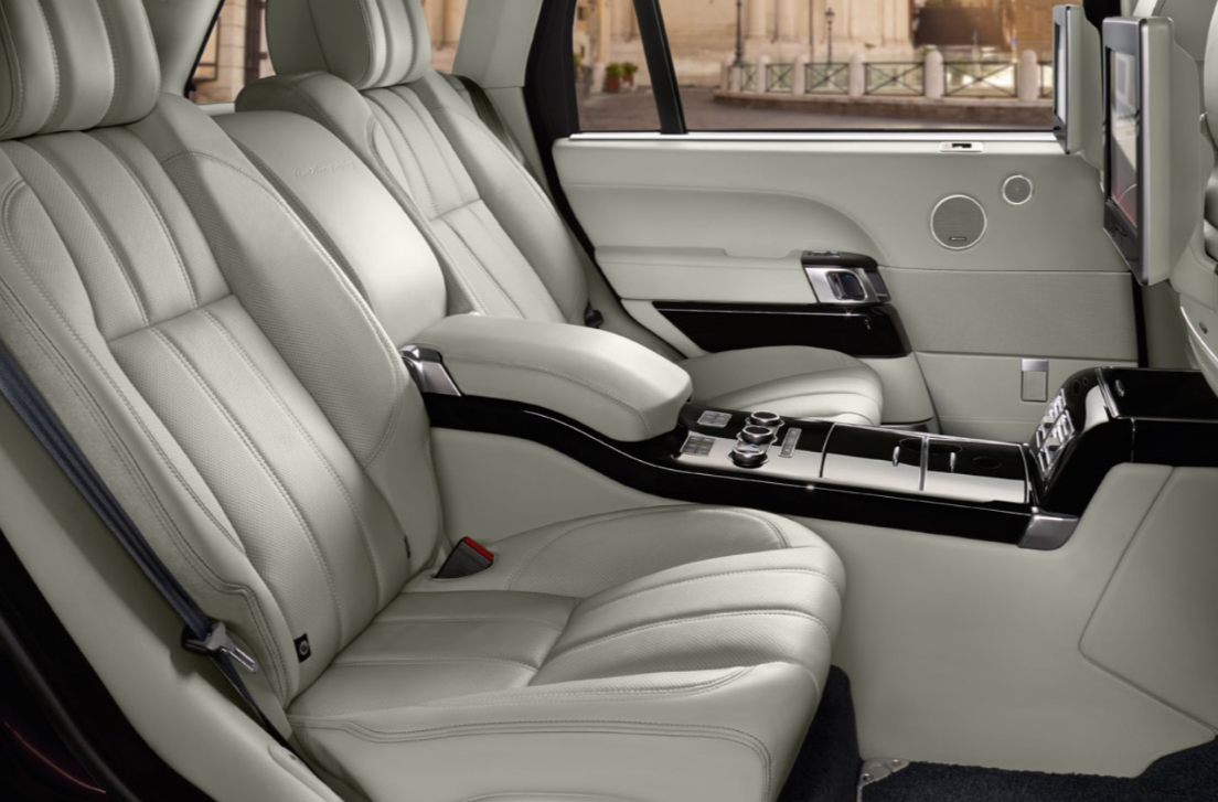 2016 Range Rover Back Seat