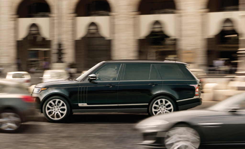 2016 Range Rover Side View