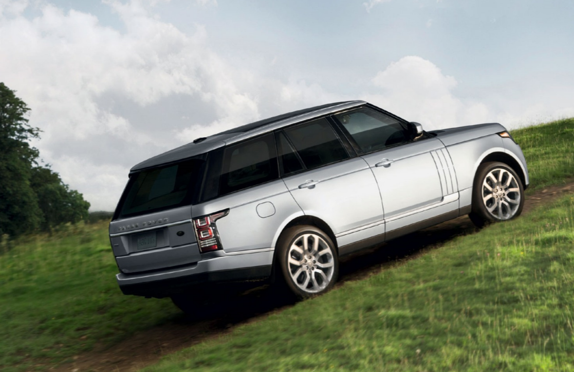2016 Range Rover Up Hill