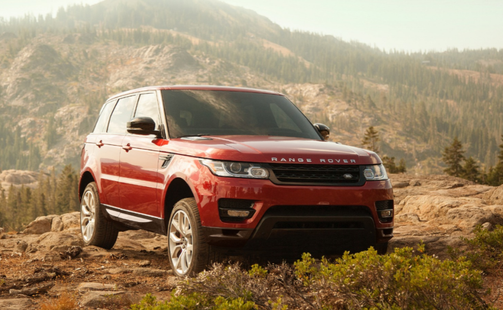 Range Rover Sport Outdoors
