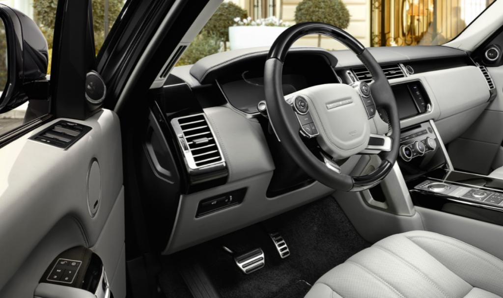 2016 Range Rover land rover interior