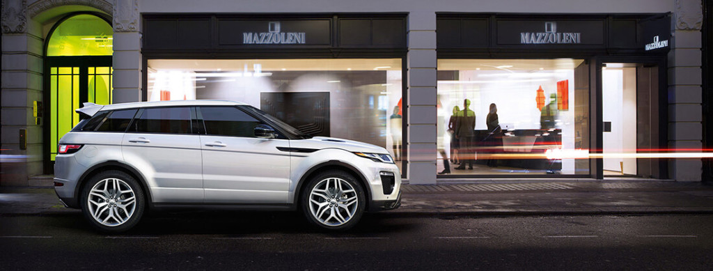 2017 Land Rover Evoque White