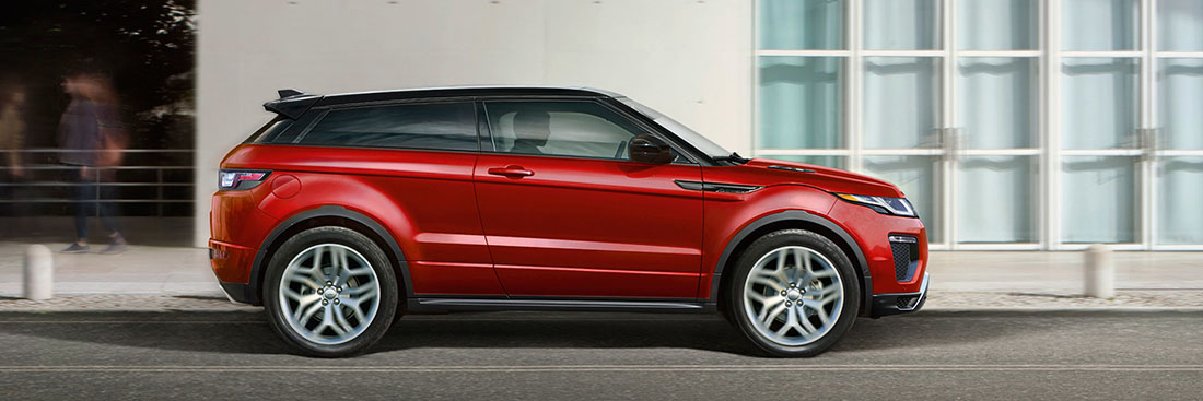 2017 Range Rover Evoque Red