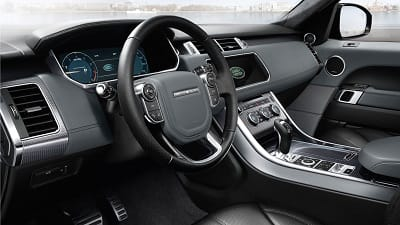 2016 Range Rover Sport Front Interior