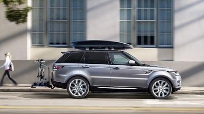 2016 Range Rover Sport Silver Profile