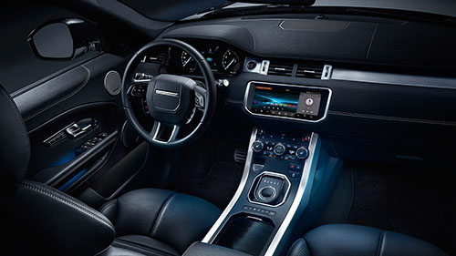 2017 Land Rover Range Rover Evoque interior dashboard