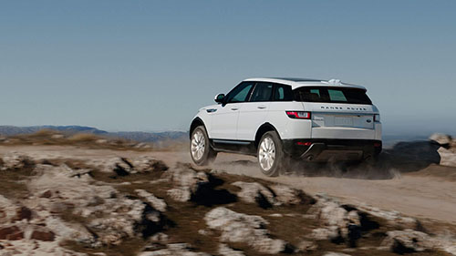 2017 Land Rover Range Rover Evoque off-road