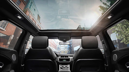 2017 Land Rover Range Rover Evoque panoramic roof
