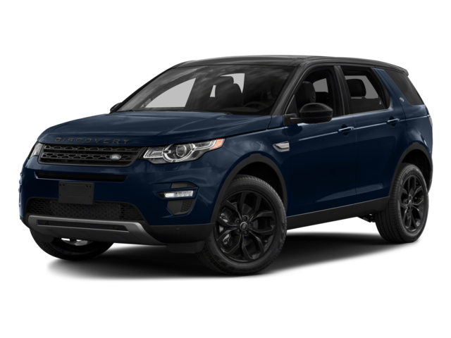 2016 Land Rover Discovery Sport blue