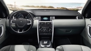 2016 Land Rover Discovery Sport dash