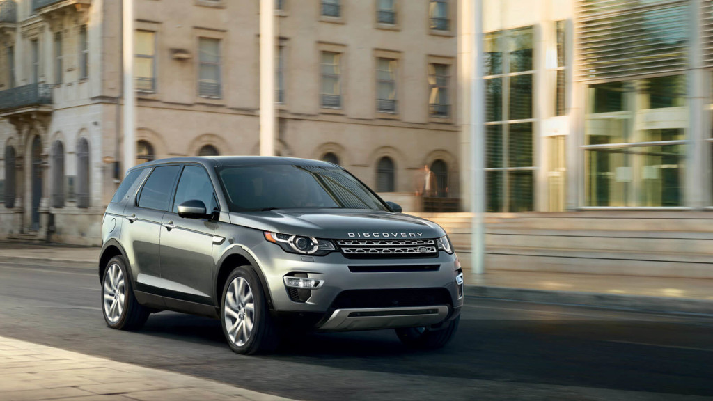2016 Land Rover Discovery Sport street