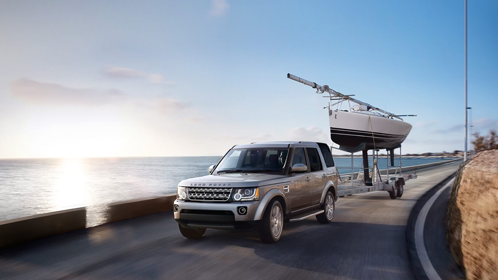 2016 Land Rover LR4 towing