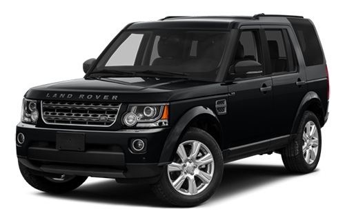 2016 Land Rover LR4 black