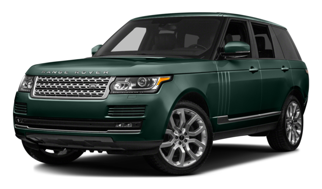 2016 Range Rover Auto green