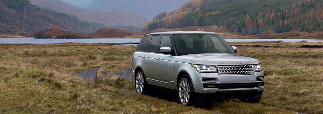 2016 Range Rover bog