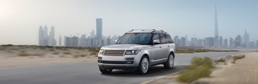 2016 Range Rover driving