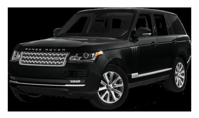 2016 Range Rover HSE black