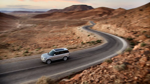 2016 Range Rover driving