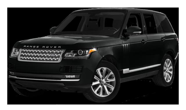 2016 Range Rover SE black