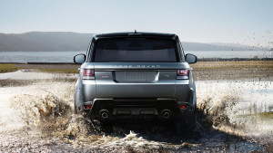 2016 Range Rover Sport rear