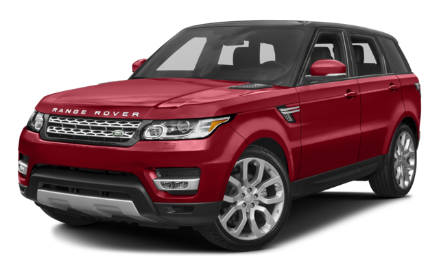 2016 Range Rover Sport red