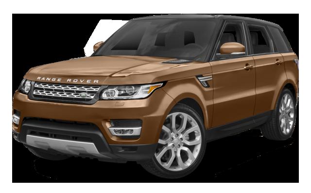 2016 Range Rover Sport brown