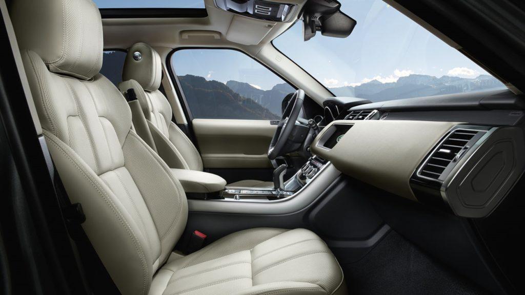 2017 Land Rover Range Rover Sport Interior Seats