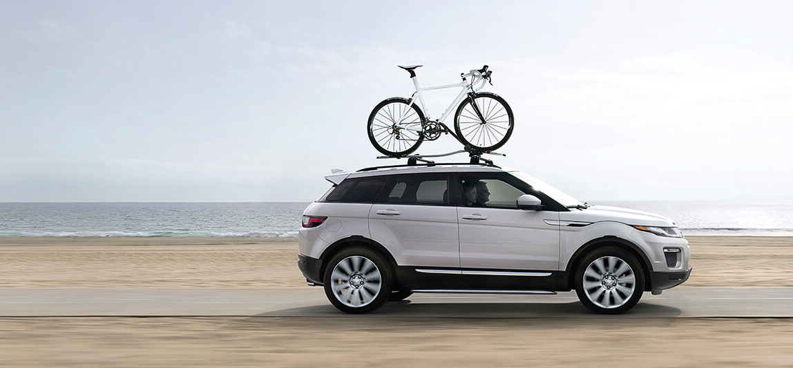 2017 Range Rover Evoque bike rack