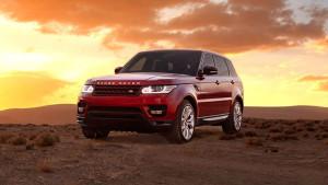 2016 Range Rover Sport Parked