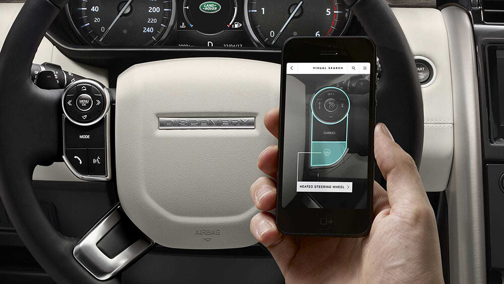 2017 Land Rover Discovery Phone