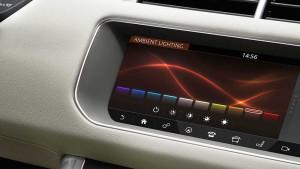 2017 Range Rover Sport Touchscreen