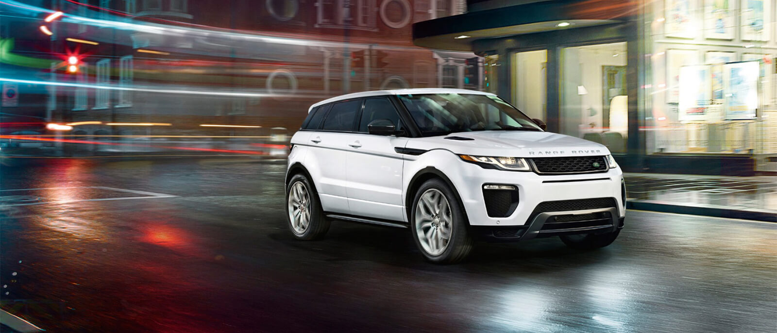 Inside the Land Rover Range Rover Evoque | Land Rover Darien