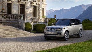 2017 Range Rover Sport Parked