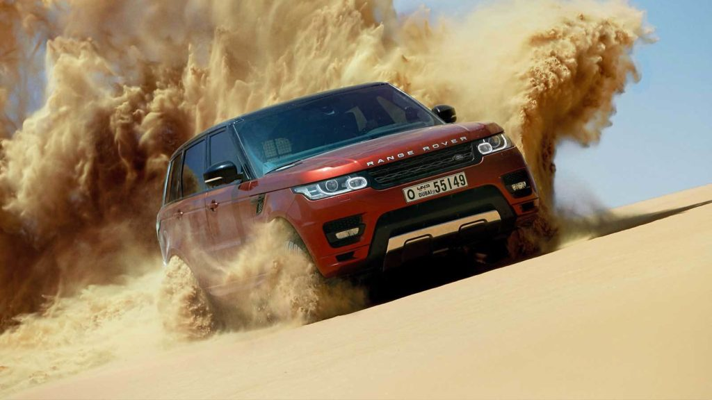 land rover sand dune