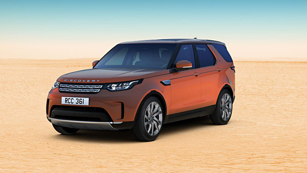 2017 Land Rover Discovery Orange