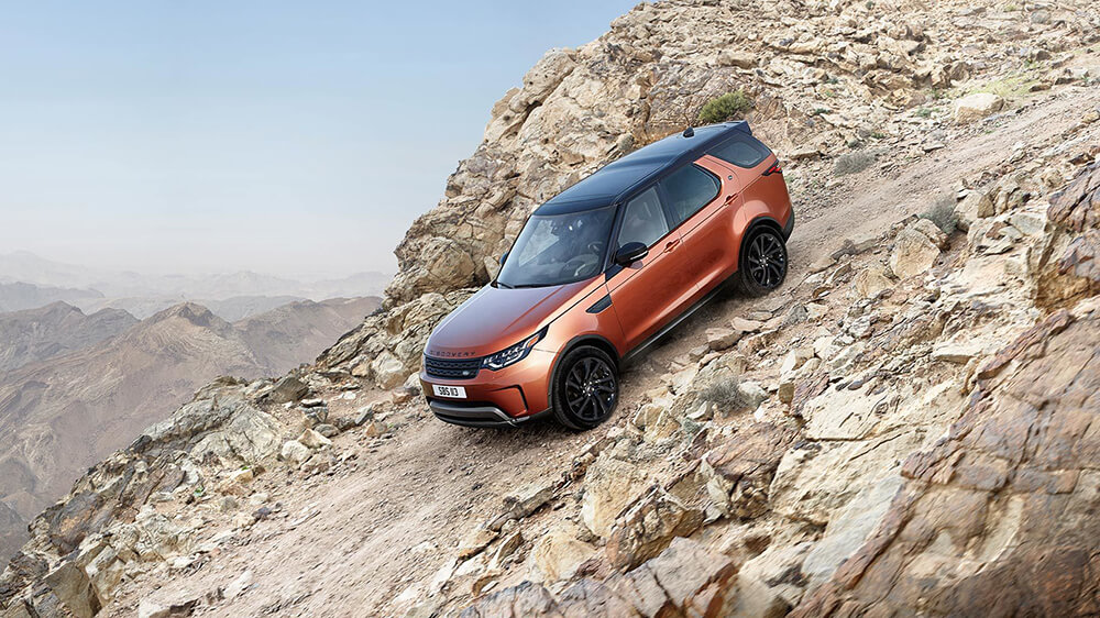2017 Land Rover Discovery Downhill