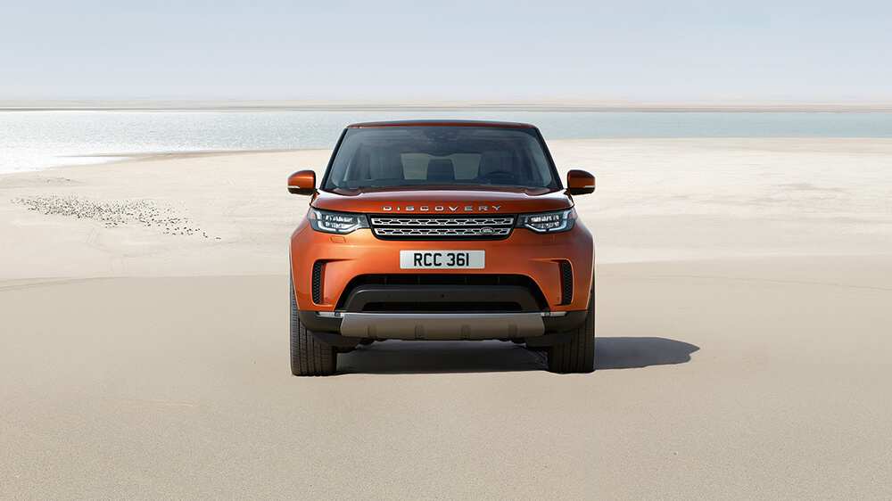 2017 Land Rover Discovery Grill