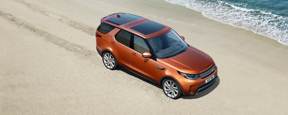 2017 Land Rover Discovery Performance orange exterior model