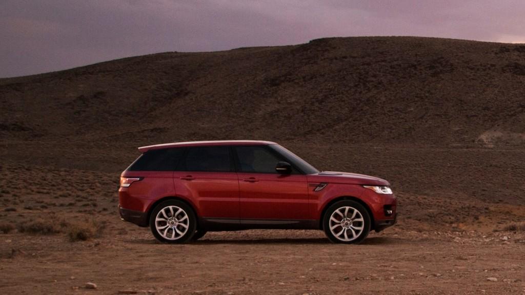2016 Range Rover Sport technology