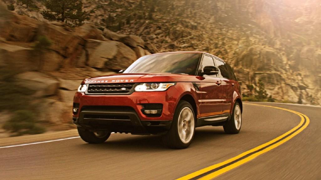 2016 Range Rover Sport test drive