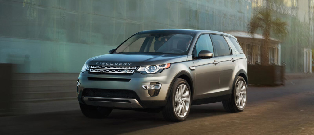 2016 Land Rover Discovery Sport grey