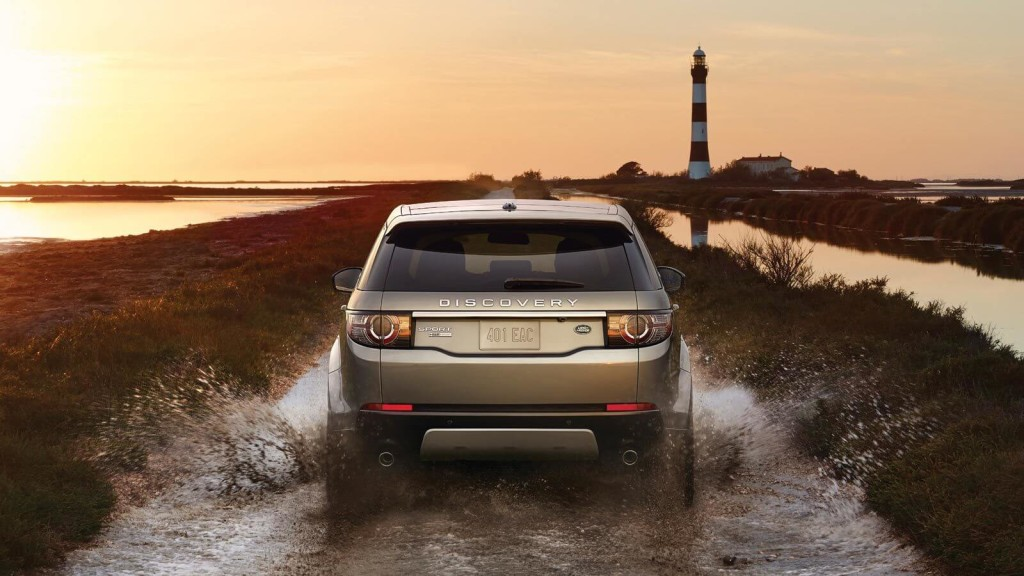 2016 Land Rover Discovery Sport rear