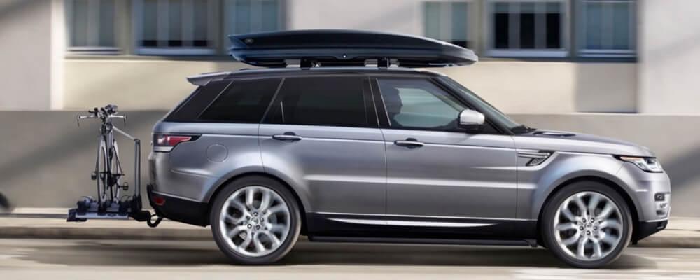 2016 Range Rover Sport grey exterior