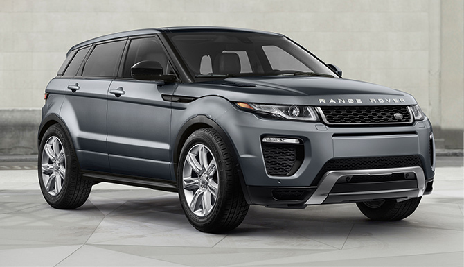 2017 Land Rover Evoque HSE Dynamic parked