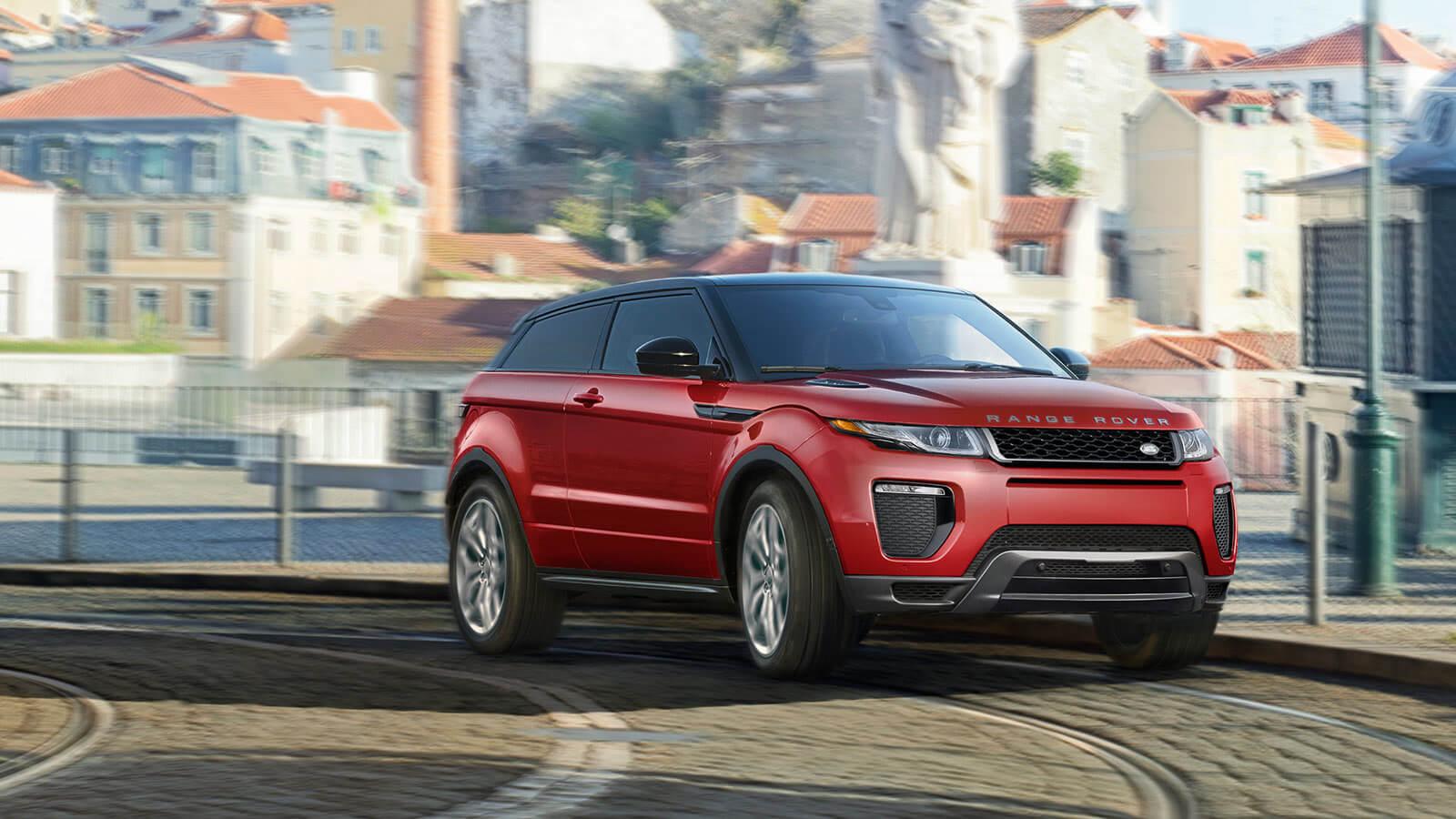 2017 Range Rover Evoque red